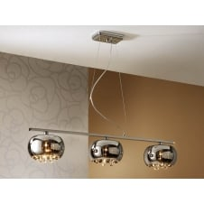 Argos Floating Ceiling Bar Bowl Pendant