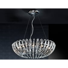 Ariadna Open Oval Crystal Chandelier