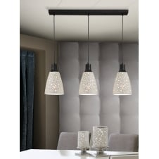 Contra 3 Molded Light Ceiling Pendant