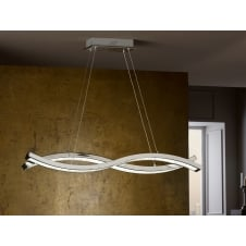 Marin LED Wave Bar Ceiling Pendant