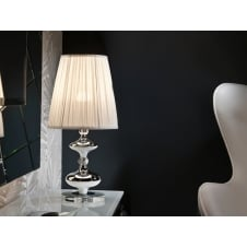 Oliver Chrome Plated Table Lamp