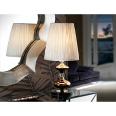Oliver Large Table Lamp, Gol