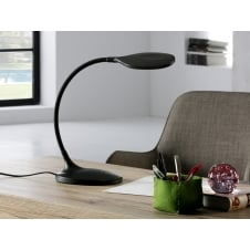 Scoop LED Table Lamp, Black