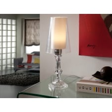Wendy Clear Table Lamp