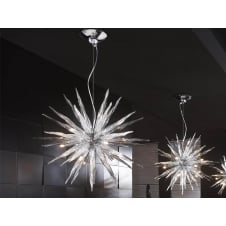 Urano Crystal Star Ceiling Pendant