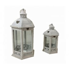 Set of 2 Oct Heart Lanterns