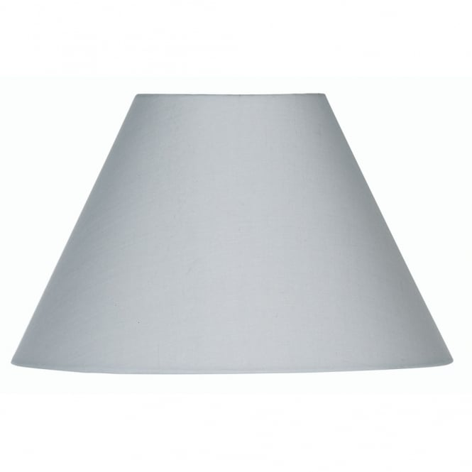 Oaks Soft Grey Cotton Coolie Shade