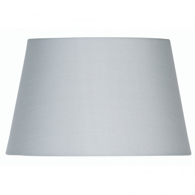 Oaks Soft Grey Cotton Drum Shade