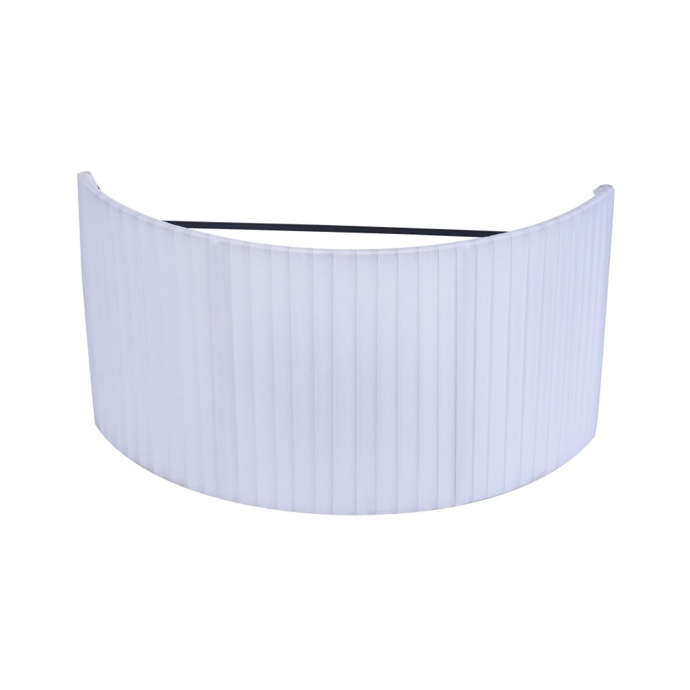 Toronto Modern White Half Lamp Shade For Wall Sconce