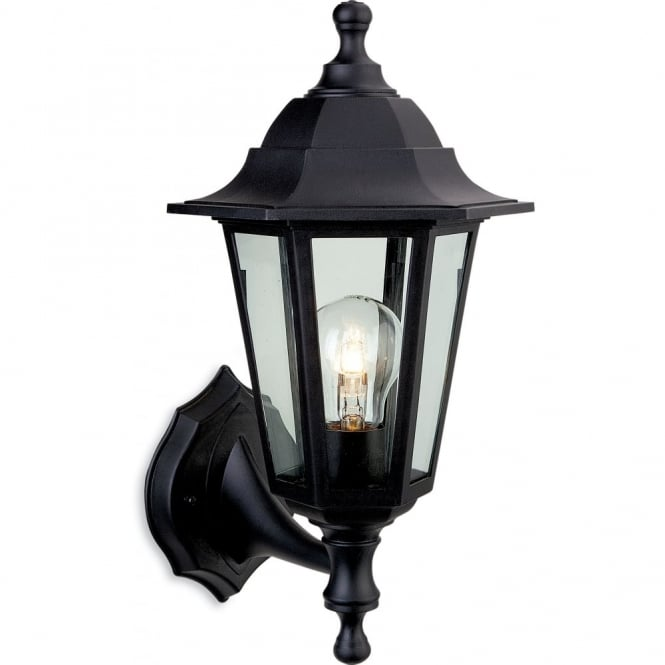 Firstlight Traditional Black Coach Lantern Outdoor