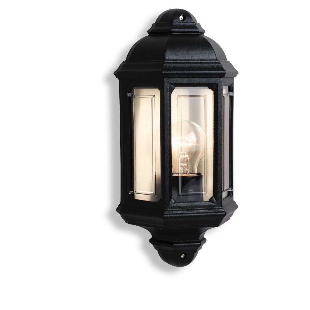 Black Garden Wall Lights : Firstlight 8751BK Outdoor Wall Light ideas4lighting SKU664I4L