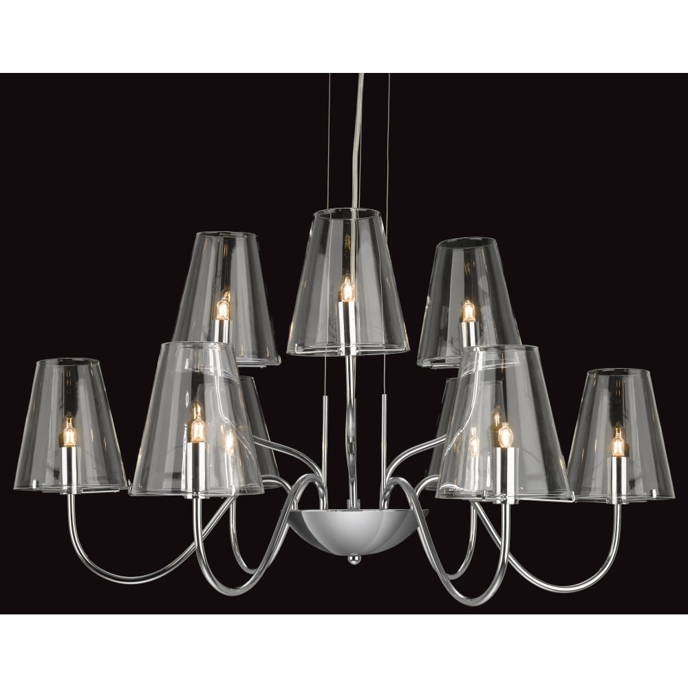 Firstlight 4234CH Jasmine 9 Light Fitting ideas4lighting SKU285I4L