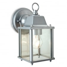 Coach Silver Antique Box Outdoor Lantern