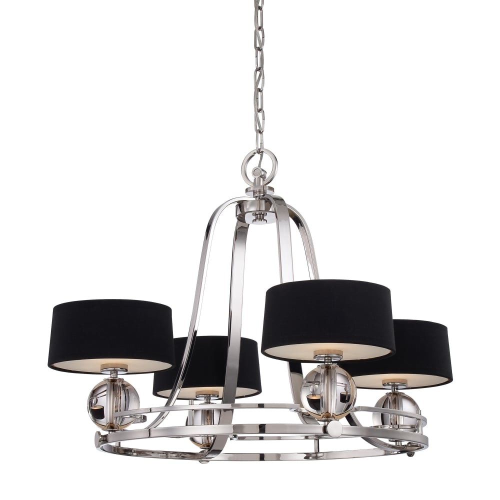 Uptown Gotham 4lt Chandelier Ideas4lighting Sku12638i4l