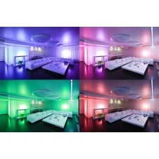 Vibe 7.2W/M IP65 RGB Colour Changing LED Flexi-Strip, 5Meter Roll