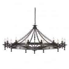Warwick Castle Antique Chandelier
