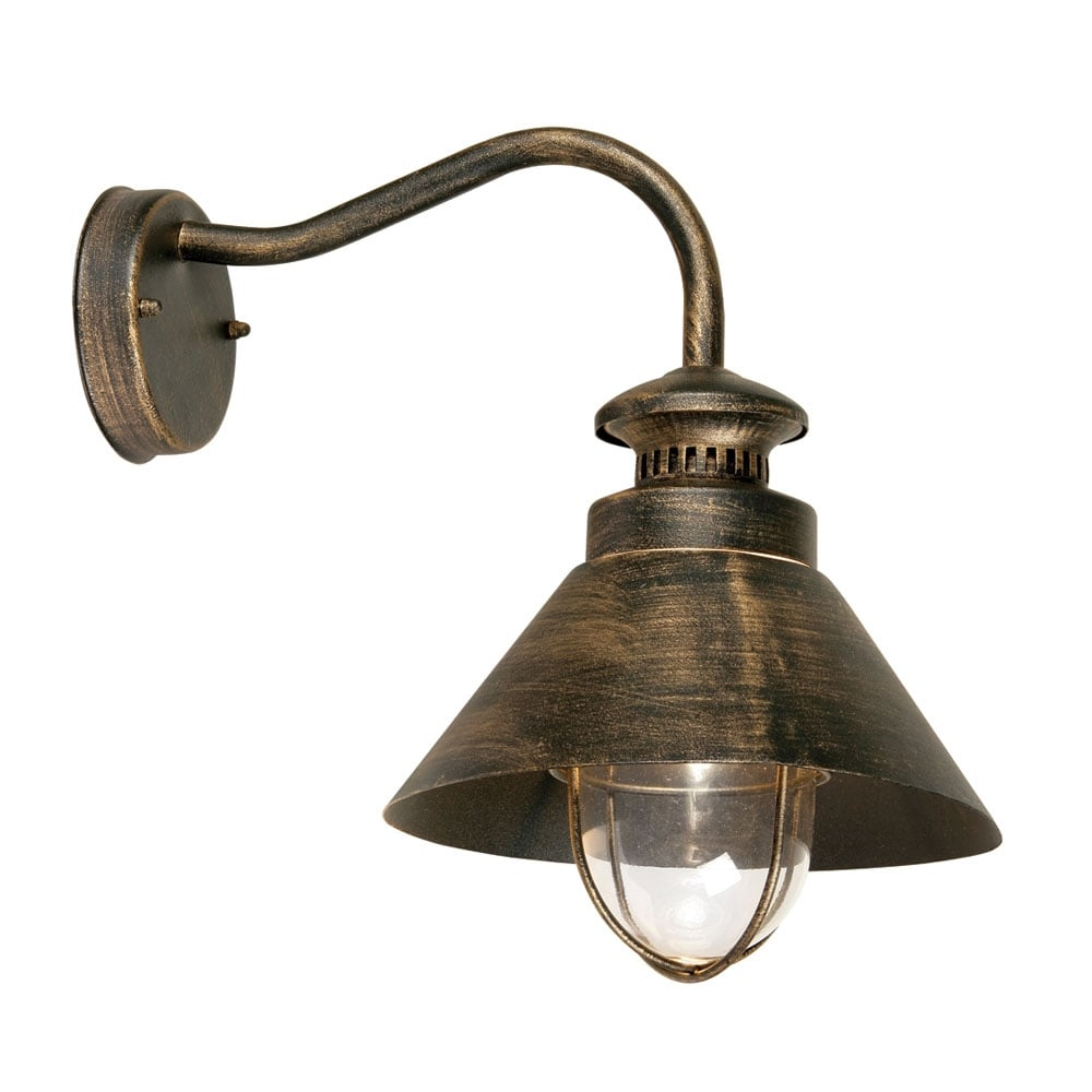 Vintage External Wall Lights : Weatherby Antique Outdoor Wall Down Light ideas4lighting SKU4276I4L