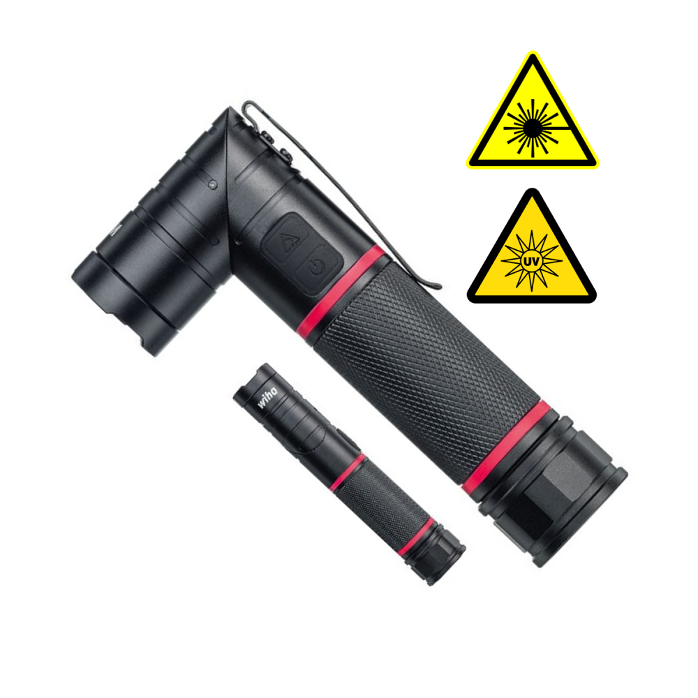 High Power Led Torch With Laser And Uv Light Ideas4lighting Tools