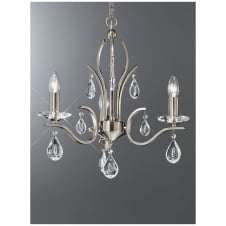 Willow Crystal Diamond Hanging Chandelier