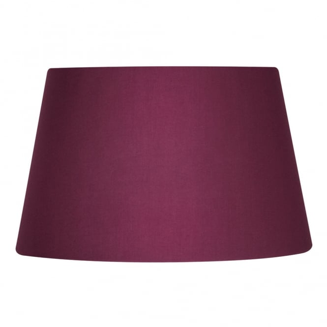 Oaks Wine Cotton Drum Shade